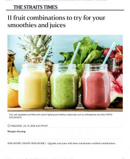 11 fruit combinations to try for your smoothies and juices- The Straits Times copy